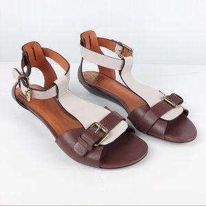 Pour La Victoire | Ankle Strap Wedge Sandal